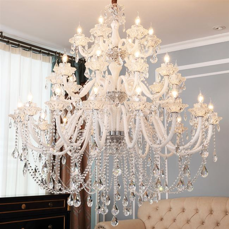 Modern Lighting Chandeliers Home Decorators Collection Light Candelabros Crystal Pendant Chandelier Dining Room Lamps Bed Room - 4