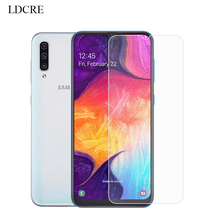 2Pcs For Tempered Glass Samsung Galaxy A50 Screen Protector Protective Phone Film for