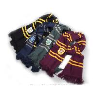 Free Shipping Harry Potter Scarves Ravenclaw Scarf Accessories Gryffindor Scarf Magic School Slytherin Scarves