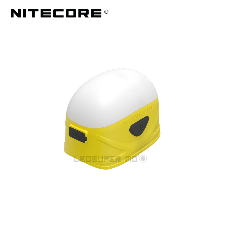 Original Nitecore LA30 250 Lumens Micro-USB Rechargeable Light Bi-fuel Portable Camping Lantern Built-in 1800mAh Li-ion Battery