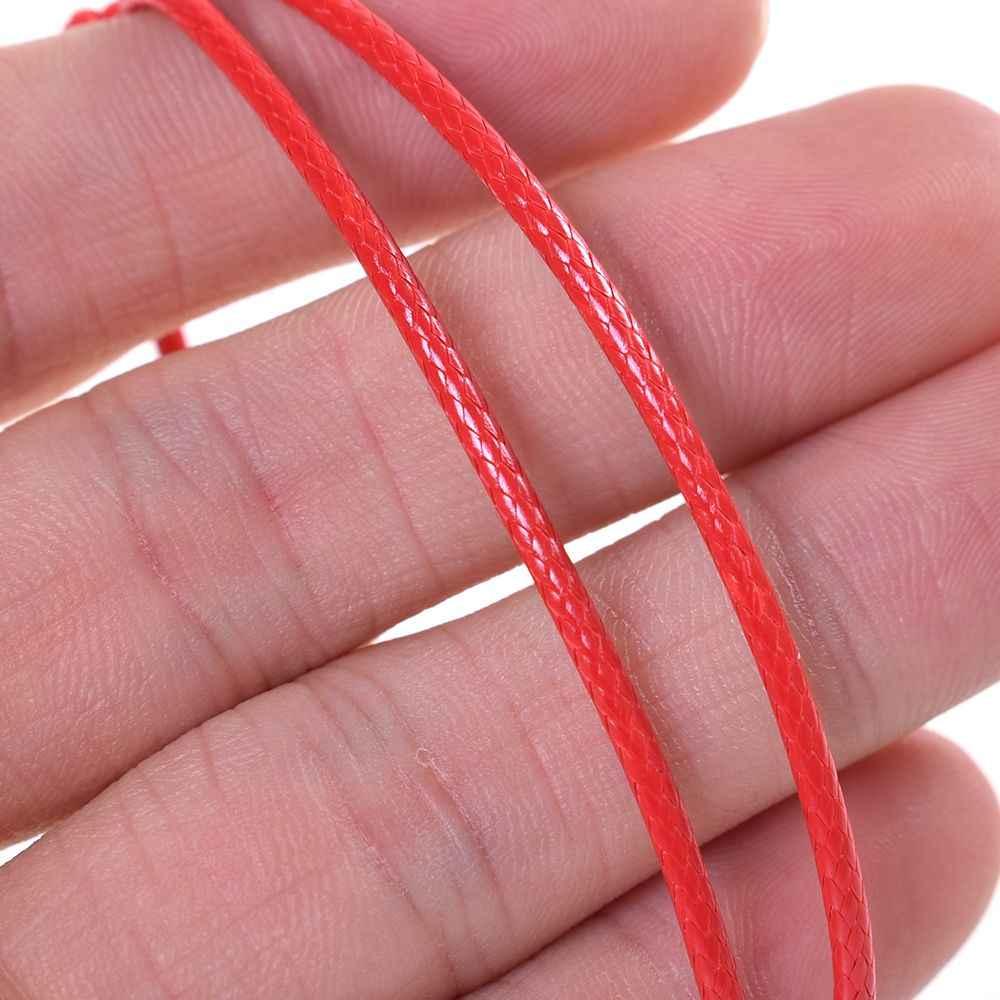 2019 แฟชั่นสร้อยข้อมือหนังผู้หญิงสีแดงด้ายสร้อยข้อมือผู้ชายสายรัดข้อมือเชือกเครื่องประดับ String Charm สร้อยข้อมือเครื่องประดับคู่ของขวัญ