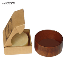 100г крем для бритья бород в деревянной чаше для мужчин(China (Mainland))