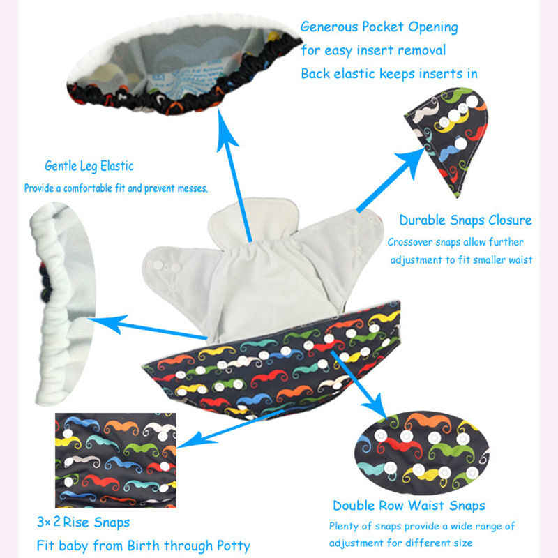 Pano lavável do bebê fralda e fraldas impermeáveis do bebê pano reutilizável fralda terno 0-2years 3-13kg g series