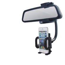 Car phone holder Romron Rearview Mirror Mobile Bracket Navigation Seat Reflector Creative Universal Frame Hanging Type