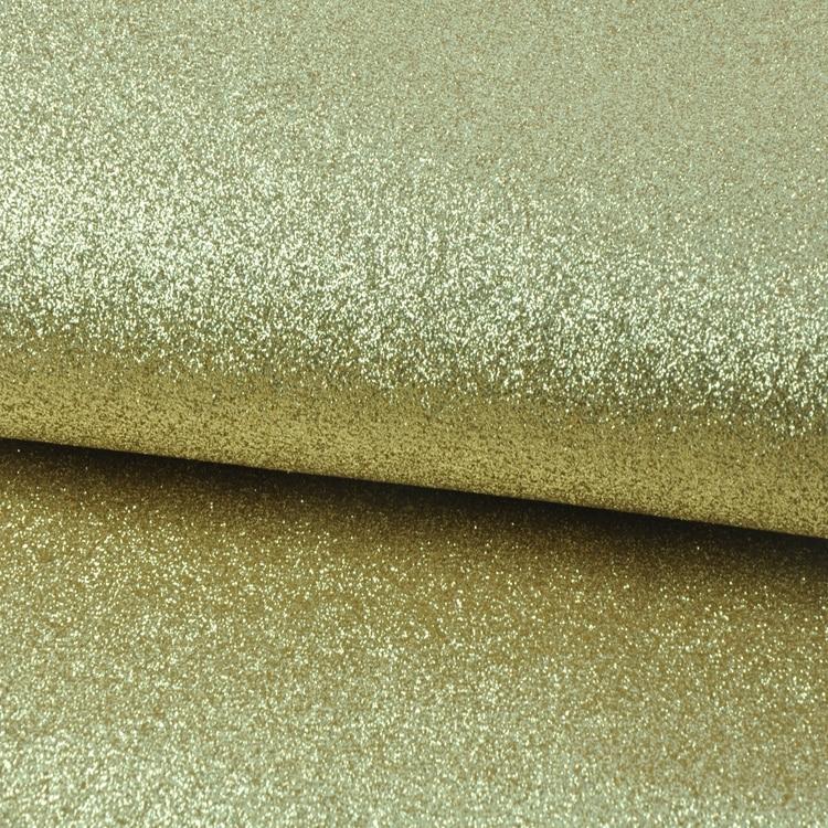 6 м один рулон 138 см Ширина золотой блестящий материал для украшения обои золотые блестящие обои для ресторана стены декорации