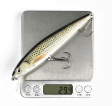 Big Size Noise Model Minnow Fishing Lure 15cm 29.5g Lifelike Minnow Bait Swimbait Top Water Floating Fish Lure Casting Bait