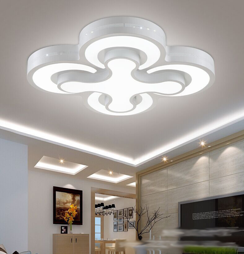Lamparas De Techo Led Para Cocina Modern Led Ceiling Lights 48w Bedroom Lamps 4heads For