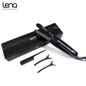 Image 5 - Lena LN 328 220 V Professionele Crimper Keramische Gegolfd Krultang Krultang Haar Styler Elektrische Corrugation Wave Haar