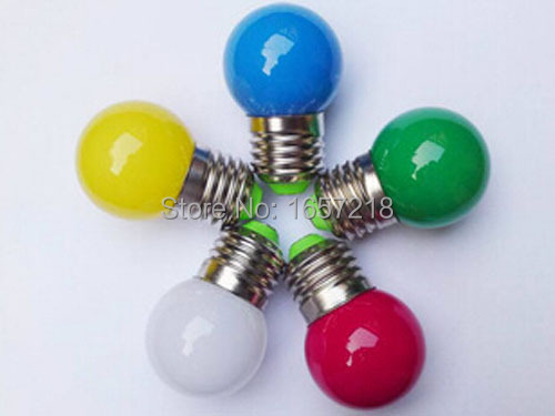 10pcs/lot,E27 LED Lamp Light 3W Bulb lighting 220v indoor lights white/red/blue/green/yellow color for home decor