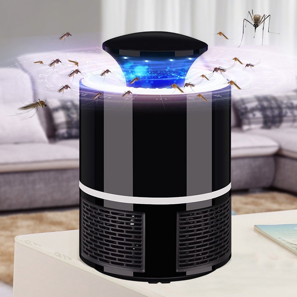 Electric anti mosquito killer lamp led bug zapper and moskito lure trap lamp muggen Light UV Light insect moustique lamp USB