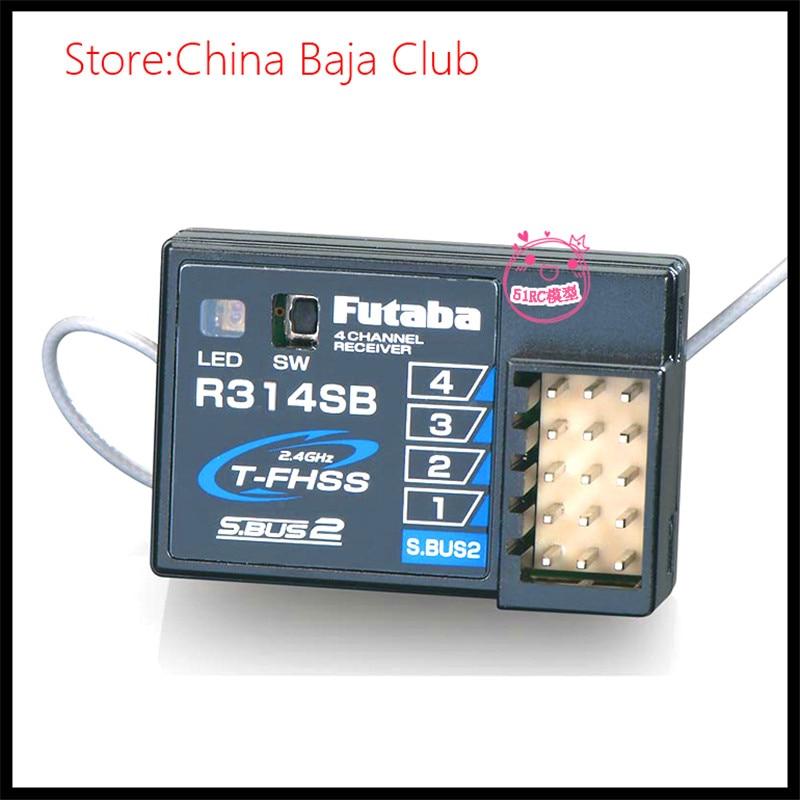 Futaba 4PXR 4PX 4PLS R314SB FHSS 4 Channel Telemetry Receiver free shipping tarot sbub 2 4ghz receiver tl150f1 rsfsb futaba s fhss fhss 8ch t6j t8j t10j t14sg t18sz 18mz compatible