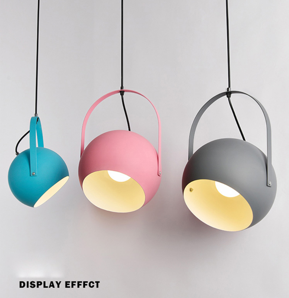 Modern LED Pendant Lights colourful Dining-room Restaurant Pendant Lamps E27 electric Wire Home Decration Lighting fixtures