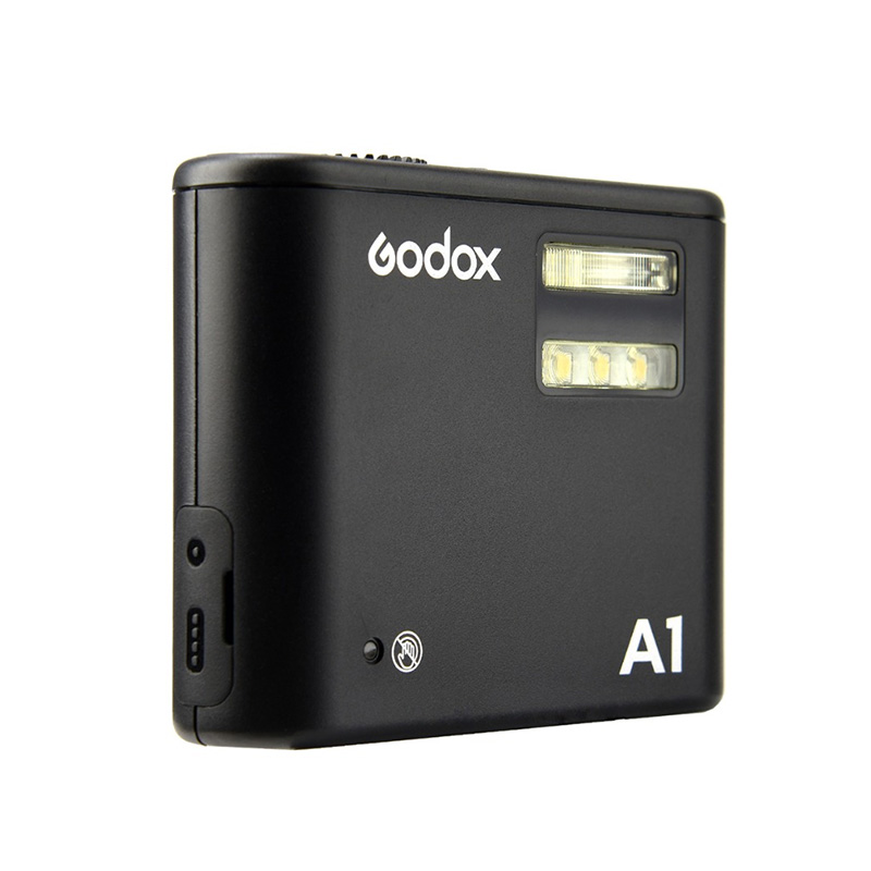Godox A1 mobile light portable flash light compatible with 2 4G and 433HZ wireless transmission function