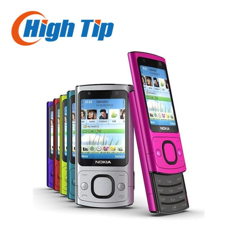 100 Original Nokia brand unlocked 6700s phone 3G 5MP camra Quad Band cell phone fast free