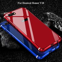 2018 Hot Sale For Huawei Honor V10 Case Luxury Hard Metal Aluminum Frame Armor Full Body