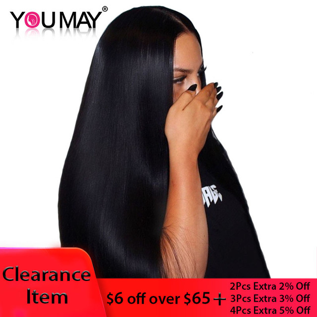13x4 Lace Front Human Hair Wigs For Women Natural Black 250% Density Straight Lace Front Wigs Brazilian Remy Hair You May
