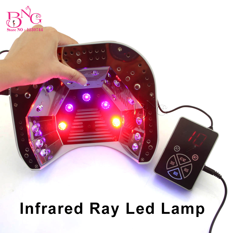 1Set Infra-red Rays Whitening Skin Care LED Lamp For Nails Gel Polish Drying Cure Drye 18W 36W 48W 30/60/90S1Set Infra-red Rays Whitening Skin Care LED Lamp For Nails Gel Polish Drying Cure Drye 18W 36W 48W 30/60/90S