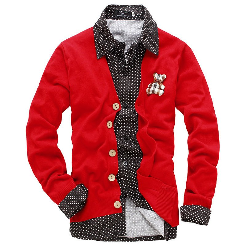 Find Red men's cardigans at ShopStyle. Shop the latest collection of Red men's cardigans from the most popular stores - all in one place.