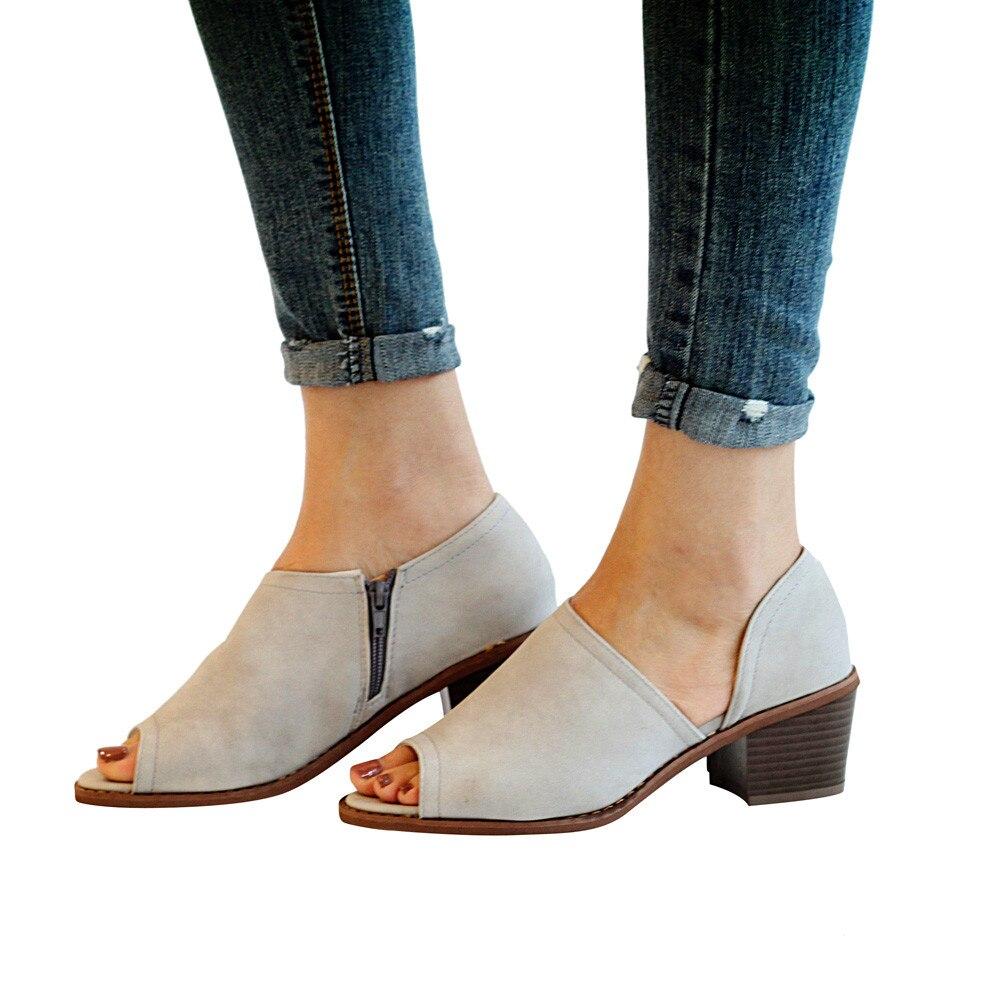 01842e0b1 YOUYEDIAN-Women-s-Vintage-Fish-Mouth-Shoes-Pure-Color-Zipper-Square-Heel -Single-Shoes-zapatos-de.jpg