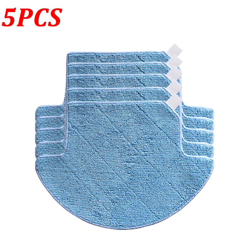 5Pcs/Lot Mopping Cloth Pad For Chuwi ilife V7S V7S Pro Robot Vacuum Cleaner Mop Replacement Parts Accessories5Pcs/Lot Mopping Cloth Pad For Chuwi ilife V7S V7S Pro Robot Vacuum Cleaner Mop Replacement Parts Accessories