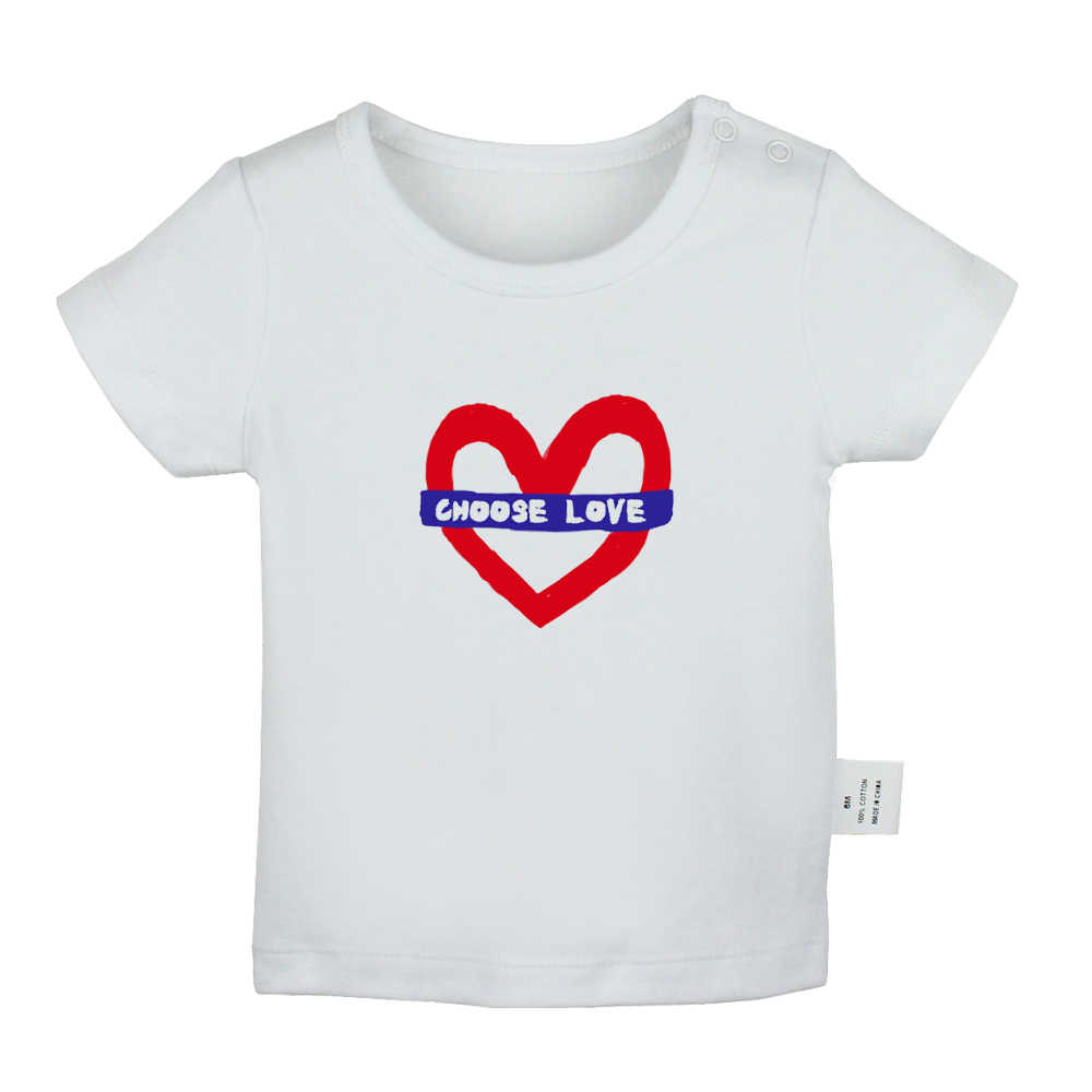 Hond Mom Liefde Hart Kiezen Liefde I Hart Party Crashers Pasgeboren Baby T-shirts Peuter Grafische Effen Kleur Korte Mouw Tee tops