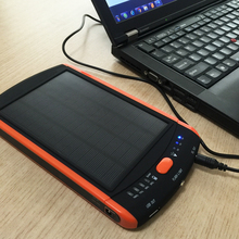 23000 mAh Ladegerät Fall Laptop Backup-Power Bank Große Kapazität Solar Externe Batterie 19 V Solar Panel Power für Xiaomi