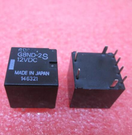 HOT NEW relay G8ND-2S-12VDC G8ND-2S 12VDC G8ND-2US G8ND 8ND-2UK DC12V 12VDC OMRON DIP8 10pcs ad705jn dip8 new