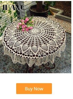 renda coasters casa decoração de mesa artesanato
