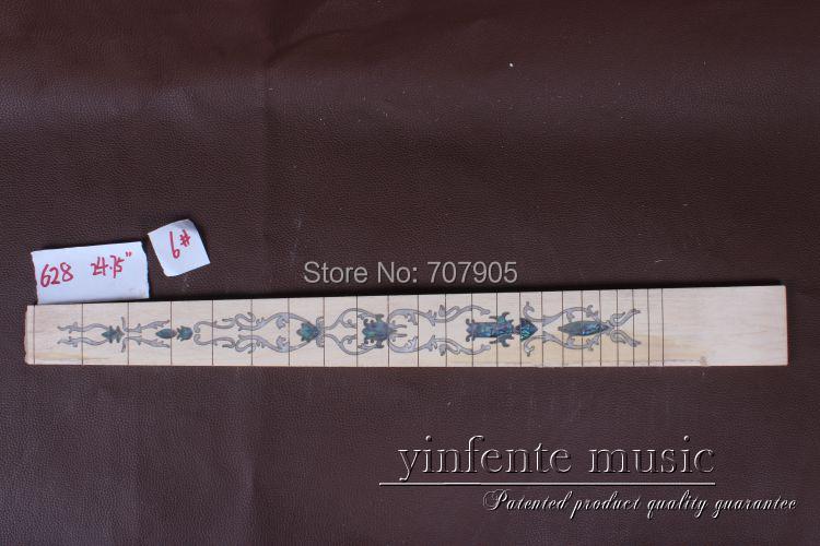 1 x  24.75 Guitar Fretboard electric guitar Maple Wood Fretboard Parts 6   # factory store white st signature hss pickups maple fretboard 6 string electric guitar guitarra