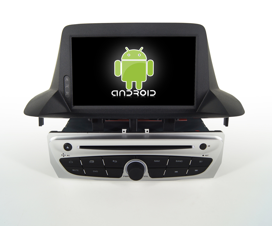Navirider Android 8.1.0 octa core car dvd player for Renault <font><b>megane</b></font> III <font><b>3</b></font> 2014 <font><b>gps</b></font>+glosnass multimedia head Unit autoradio image