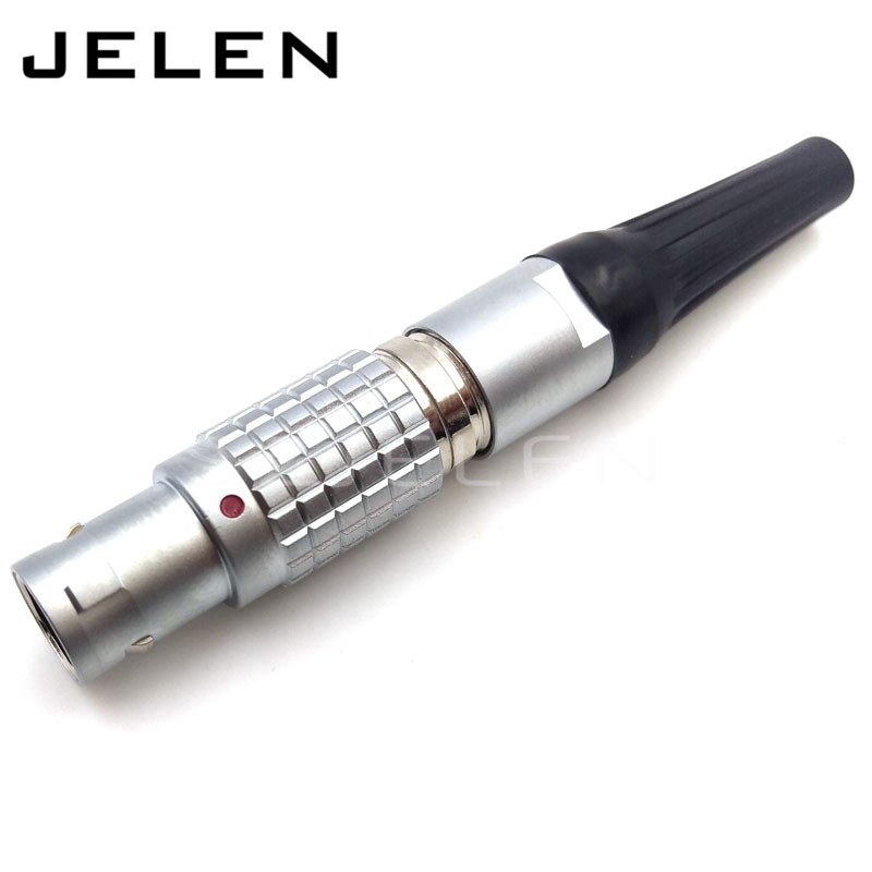 LEMO  FGG.1B.306.CLAD,High quality, circular metal connector, plug self-locking connector,6 pin connector,LEMO connector plugs  цены