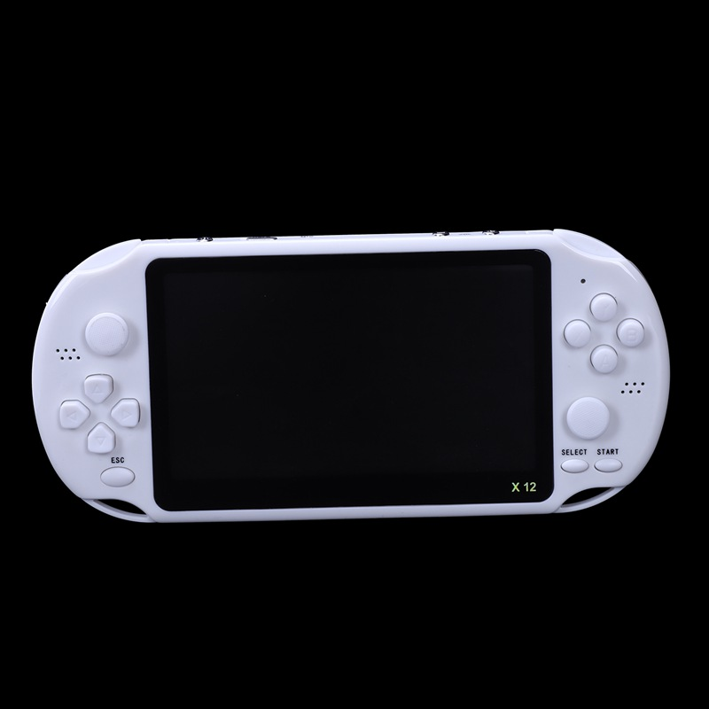 Image 5 - Powkiddy 5.1 Inch 8G Retro Game Console HD Screen Dual Joystick Handheld Game Player Family TV Retro Video Consoles Built In 1-in Handheld Game Players from Consumer Electronics
