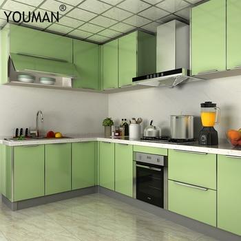 Papel pintado autoadhesivo de PVC de YOUMAN papel pintado de vinilo de PVC para cocina, armario, puerta, muebles, papel pintado de escritorio, película decorativa