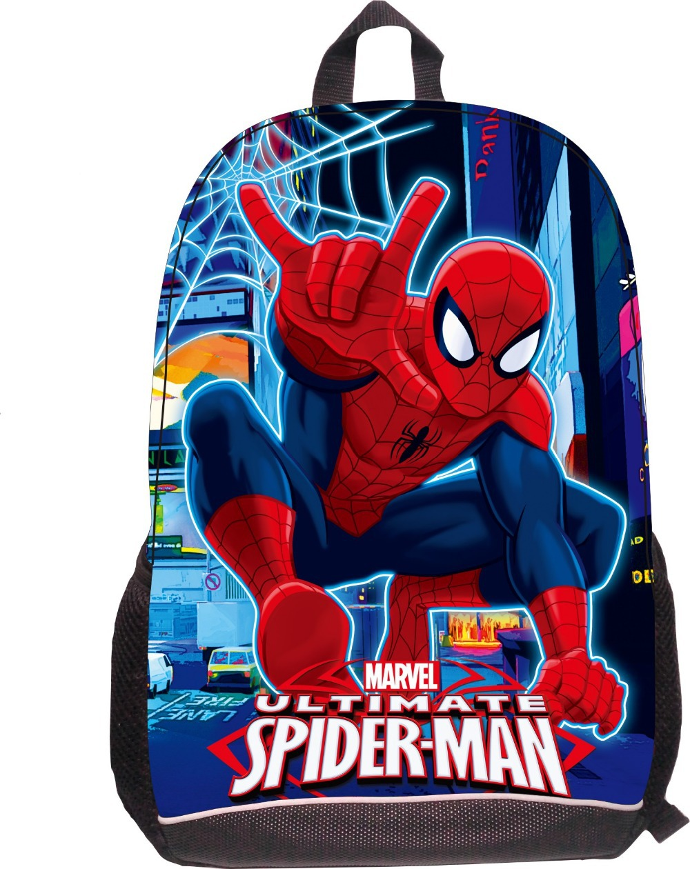 Online Buy Wholesale spiderman large backpack from China spiderman ...
