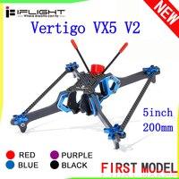 iFlight Vertigo VX5 V2 Drone Frame 5Inch 200mm Vertical FPV Frame 4mm Arm Compatible Xing 2207 Motor for RC Drone Racing DIY Kit