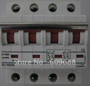 Disjoncteur cc, 1000VDC, disjoncteur photovoltaïque