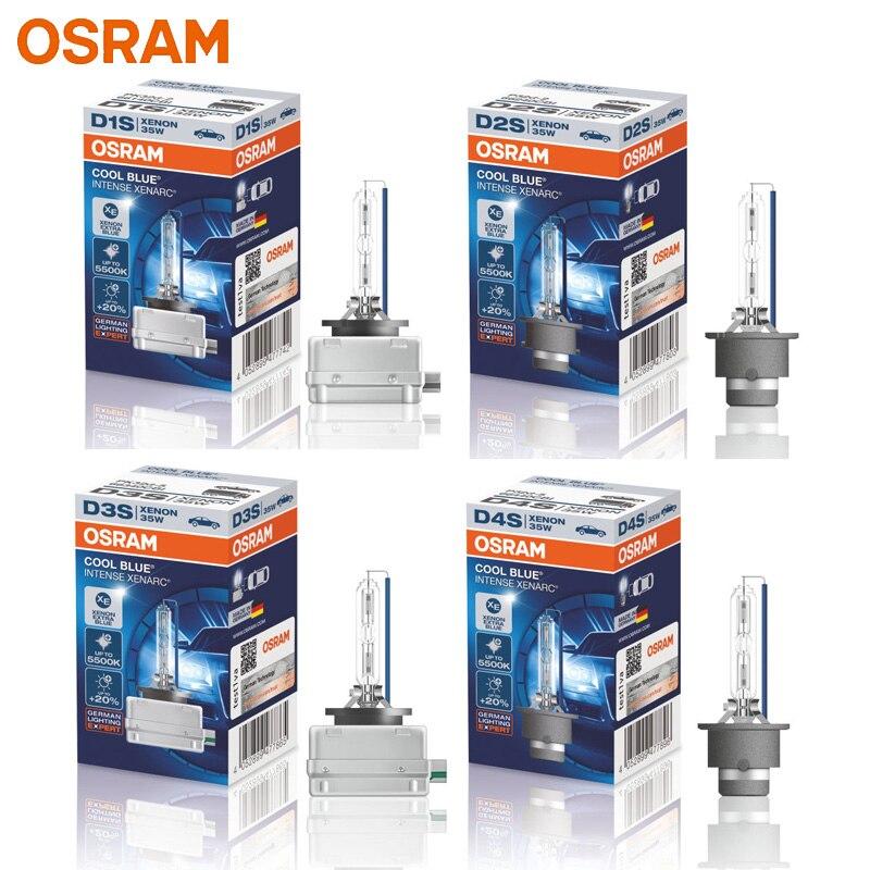 OSRAM Xenon HID D1S D2S D3S D4S 66140CBI 66240CBI 66340CBI 66440CBI Cool Blue 5500K Car Headlight