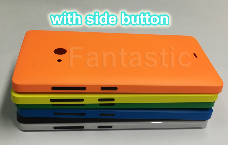 timeless design a5e7d 0919f US $2.69 10% OFF|Back Cover Case for Microsoft lumia 540 Rear Housing  Battery Cover Case for Nokia lumia 540 with side button -in Fitted Cases  from ...
