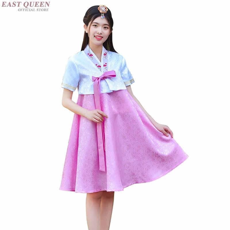 קוריאני hanbok חתונה שמלת קוספליי ביצועים קוריאני מסורתי שמלת סגנון בגדי שמלת תלבושות לאומי hanbok AA4000