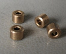 20pcs/lot Inner Diameter :2mm Outer diameter:5mm  Length: 4mm. Copper sleeve oil bearing
