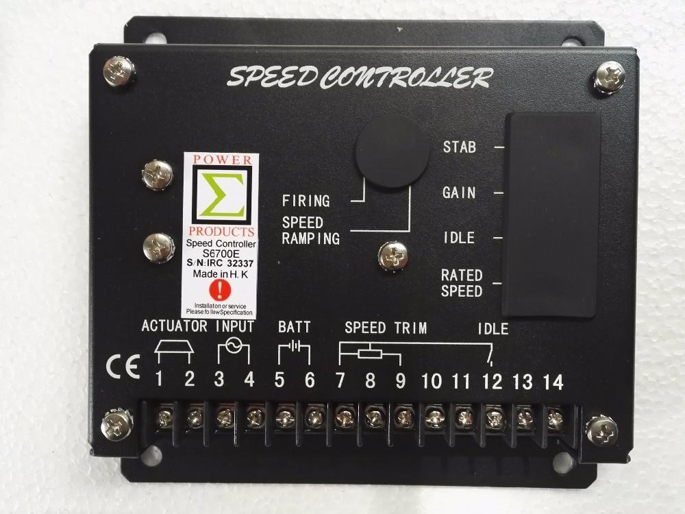 цена на MEBAY S6700E Speed Control Unit Generator Board