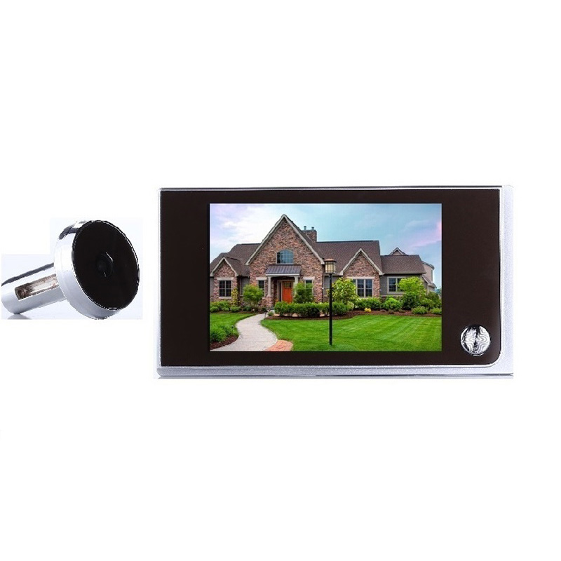 Porta Digitale 3.5 Inch LCD 0.5 Megapixels Camera 120 Degree Widen Viewing Angle Digital Peephole porta