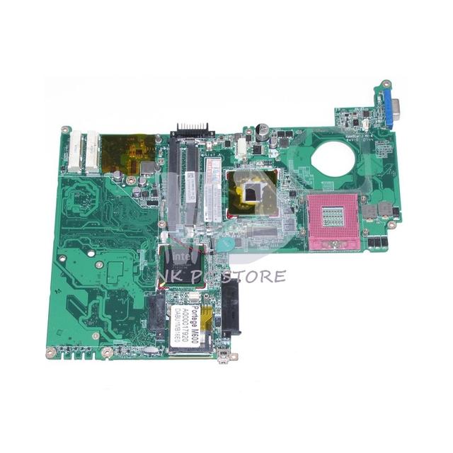 Portege M600 A000017920 31BU1MB0160 DABU1MB16E0 Placa Principal Para Toshba GL960 DDR2 Placa Madre Del Ordenador Portátil con CPU Libre