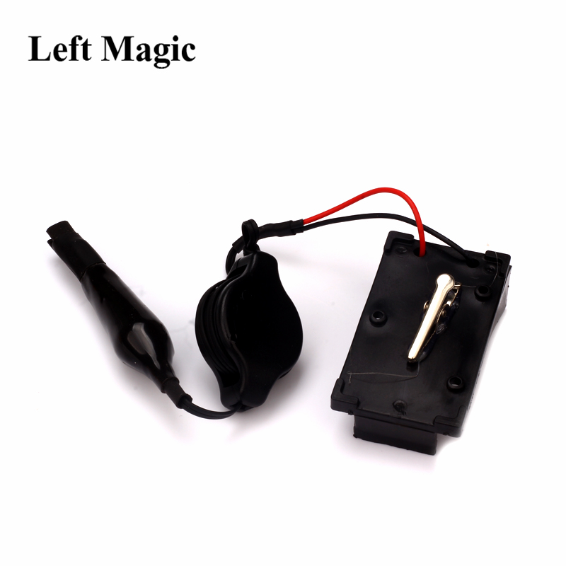 Fire Ignition Hand-Operated Wonder Electronic Igniter Device Magic Tricks Quickly Smoke Magic Paper Mache Mask Accessories G8148