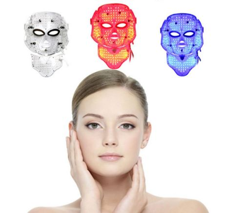 7 Colors Light Photon LED Electric Facial Mask Therapy beauty salon Anti-Aging Wrinkle Removal Skin PDT Skin Rejuvenation Device home use handheld pdt infrared red led light facial wrinkle pigment freckle removal skin whitening face body beauty machine