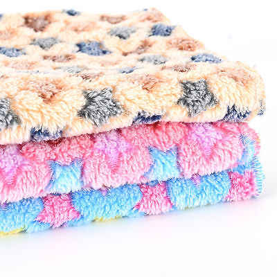 Breathable Cat Bed Rest Dog Blanket Winter Foldable Pet Cushion Hondenmand Coral Cashmere Soft Warm Sleep Mat Sweet Dream Bed