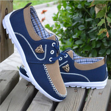 2018 new fashion spring autumn men canvas shoes casual flats breathable lightweight sneakers man lace up students shoes qa 43 2019 New Men Shoes Men Casual Canvas Shoes Fashion Lightweight Lace Up Sneakers Summer Breathable Men Flats Shoes Male