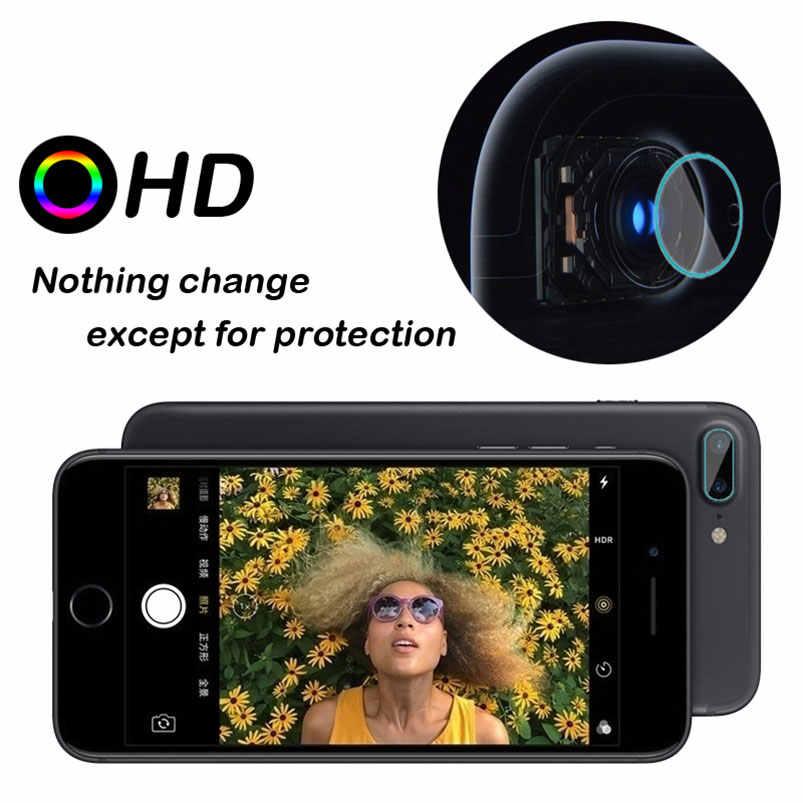 الكاميرا الخلفية عدسة واقي للشاشة ل iphone X 8 Xs ماكس XR 6 6 s 7 7 s زائد 5 5 s 5c SE المقسى زجاج عليه طبقة غشاء رقيقة كامل غطاء حالة الجلد