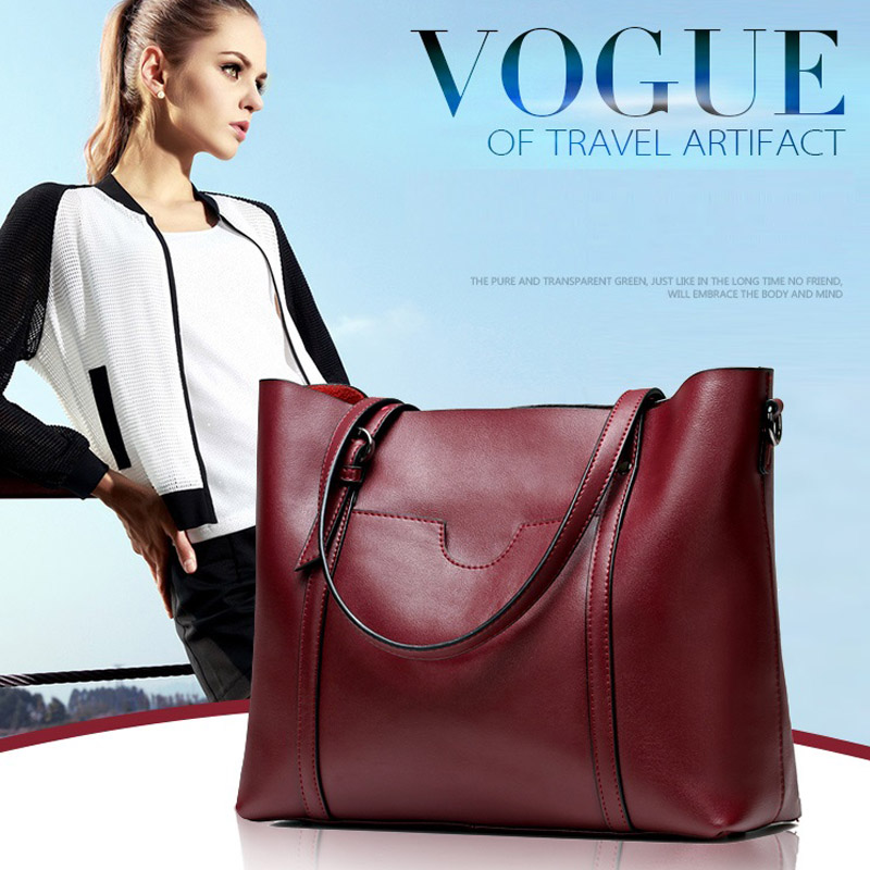 2017 Genuine Leather Bags Ladies Real Leather Bags Women Handbags High Quality Tote Bag for Women Black Red Yellow Fashion Bag casual genuine leather handbags ladies high quality real leather tote shoulder bags for women black fashion diagonal bags