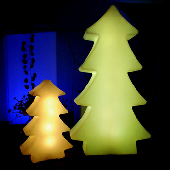 Christmas tree LED lights IP68 Outdoor Waterproof Garden Landscape RGB Colorful LED Night Lamp USB Rechargeable Remote Control
